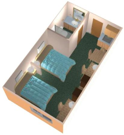 Residence & Conference Centre - Kitchener-Waterloo: Open Suite Layout