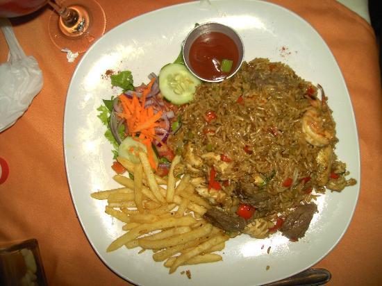 Claudio y Gloria: Rice Dish