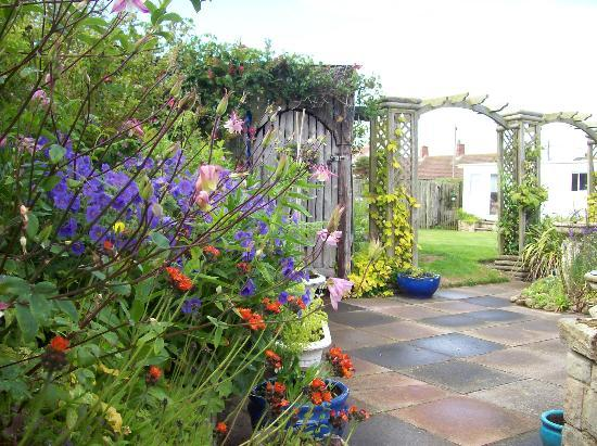 Beadnell Beach Guesthouse: Garden view from the apartment