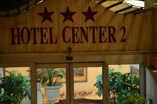 Hotel Center 2: Front of Hotel