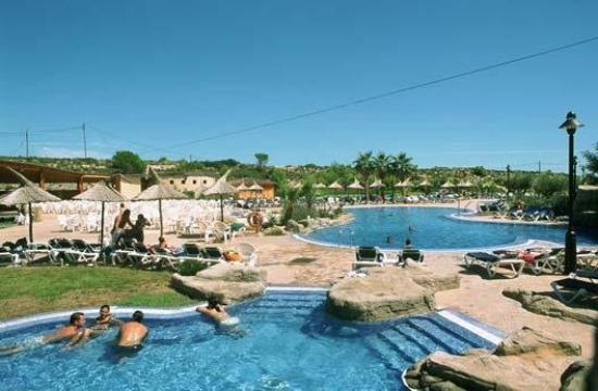 RV Hotel Ametlla Mar: Pool view