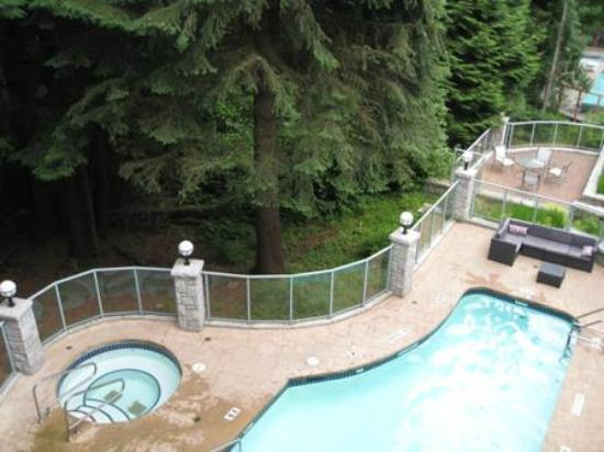Summit Lodge Boutique Hotel: Pool & Jacuzzi