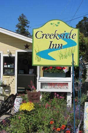 Creekside Inn : l'ingresso del motel