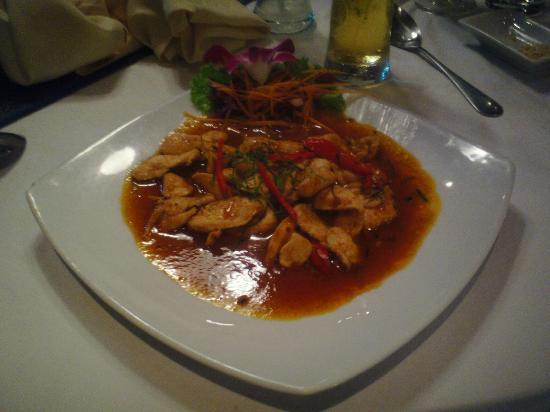 Manubai Restaurant Lounge-bar: Red curry chicken
