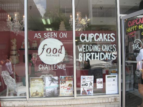 Tier Luxury Cakes: window
