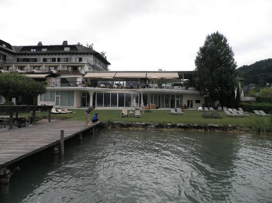 Hotel Linde from the lake