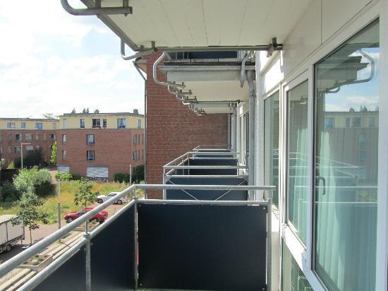 Avidon Art & Design Hotel: Balkon