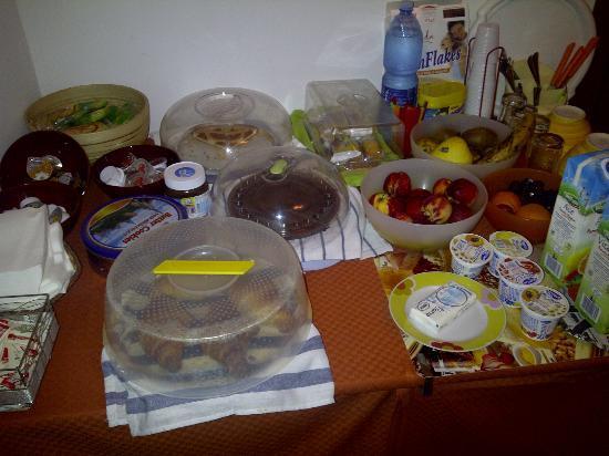 Bed & Breakfast Morfeo: Buffet colazione