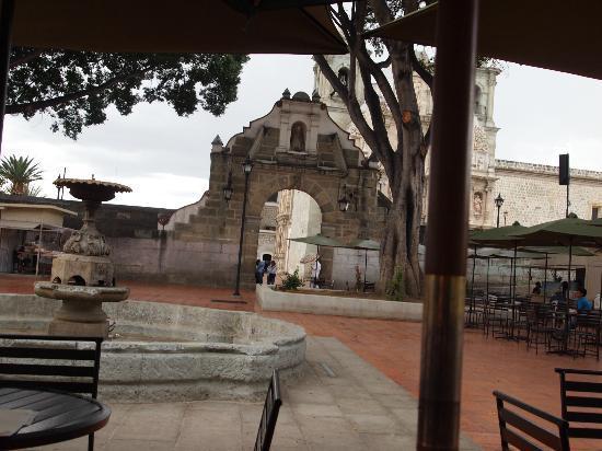 Basílica de la Soledad: Desde las nieves..