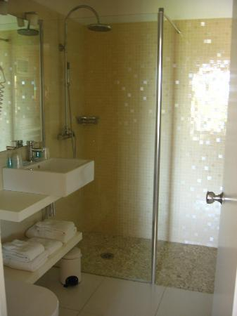 Les Roches Blanches : Shower