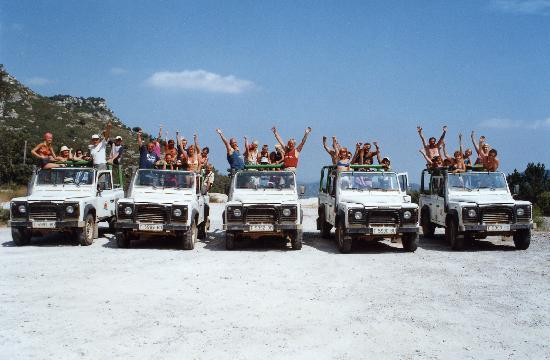 Cambrils, Spania: Welcome to Jeep Safari Aventure