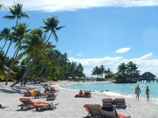 Bora Bora Pearl Beach Resort & Spa: La spiaggia del resort