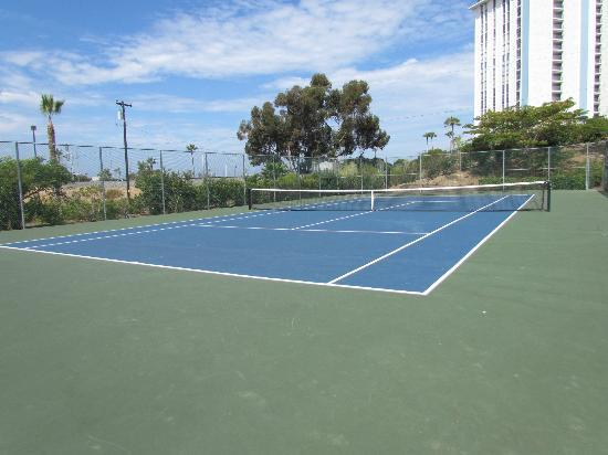 WorldMark Oceanside Harbor: Tennis Court