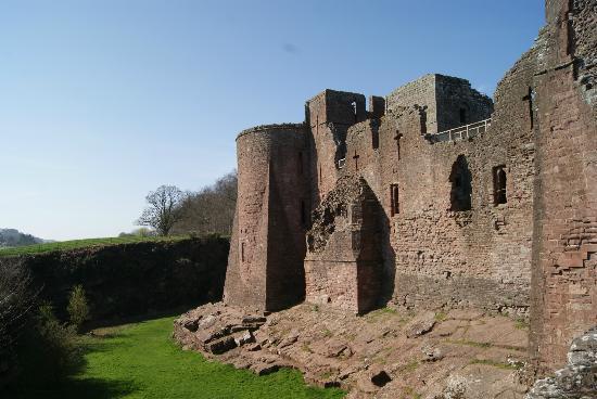 Goodrich, UK: Burg von Aussen