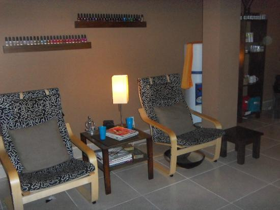 Sol Spa: Waiting Area