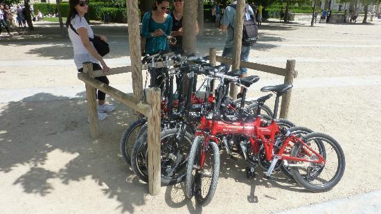 Paris Small Bike Tours: LAS BICIS DEL TOUR