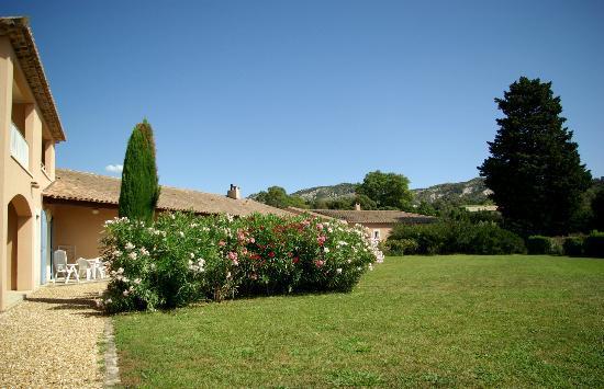 Les Residences de Metifiot: vue sur le jardin