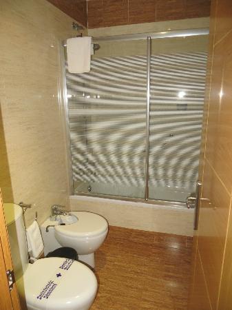 Montera Plaza Hotel: bagno