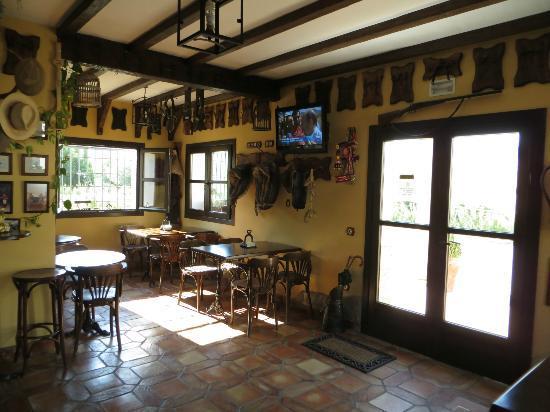 Hotel Hacienda Puerto de las Muelas: sala colazione