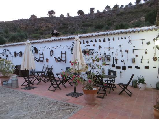 Hotel Hacienda Puerto de las Muelas: patio