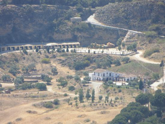 Hotel Hacienda Puerto de las Muelas: panoramica azienda
