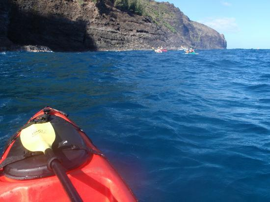 Napali Kayak - Day Tours: Near the end