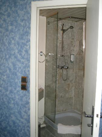 Hotel Baudelaire Opera: Room 52 shower/toilet