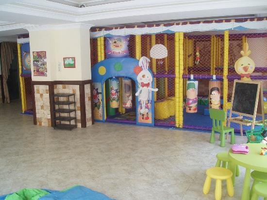 Club Aegean: The children's play area