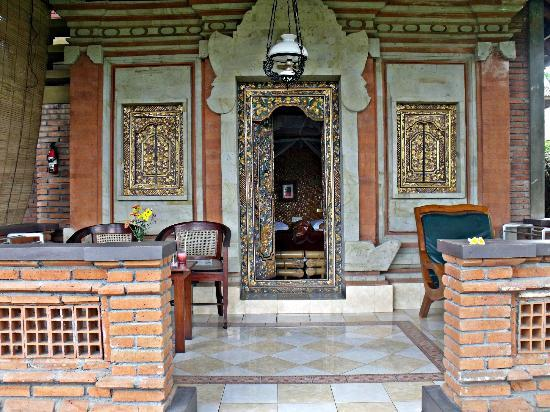 Cendana Resort and Spa: our porch