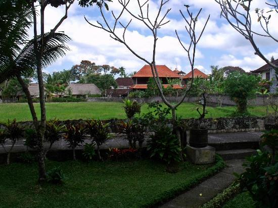 Cendana Resort and Spa: view from the porch
