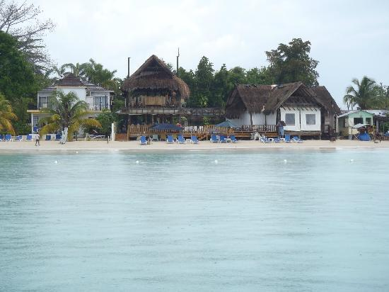 Seasplash Negril: view from a boat