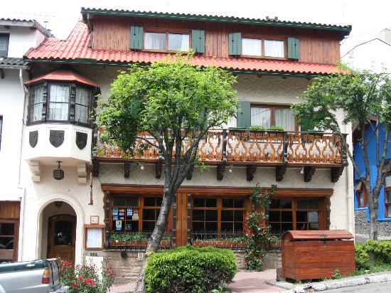 Hosteria La Casita: Frente