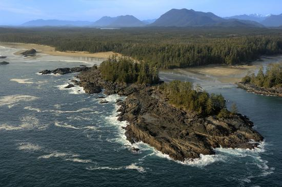 Long Beach Lodge Resort: Aerial View around Tofino