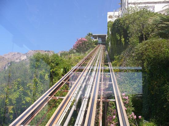Hotel Antares: ascensore panoramico