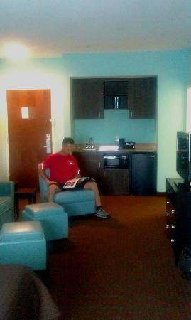 Holiday Inn Hotel & Suites - Ocala Conference Center: living area and wet bar