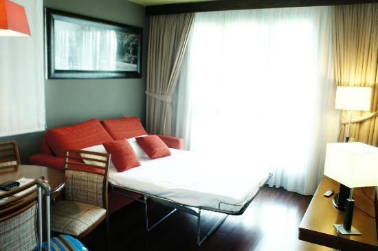 Hosteria de Torazo: cama supletoria