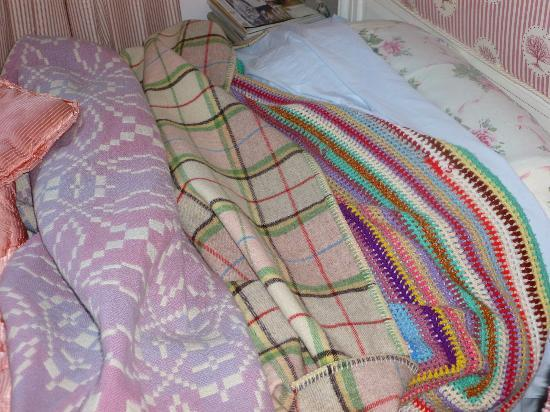 The Old Vicarage: The most colourful bedding I've had and v comfy too.