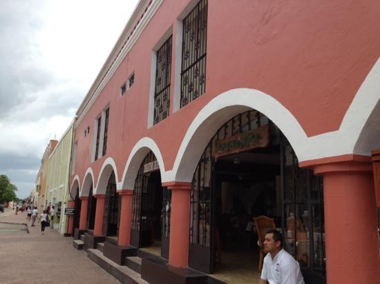 Maria de la Luz Hotel: exterior of Maria de la Cruz restaurant.