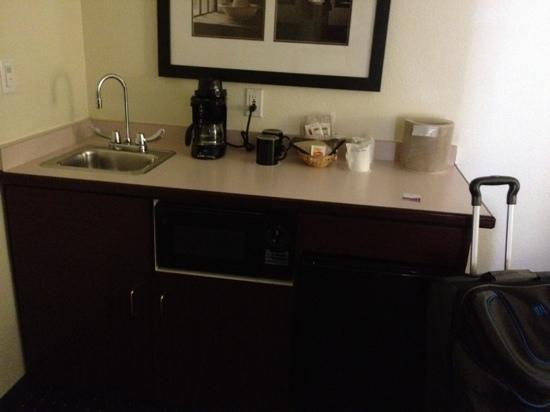 SpringHill Suites Pasadena Arcadia: dunno what this sink is for