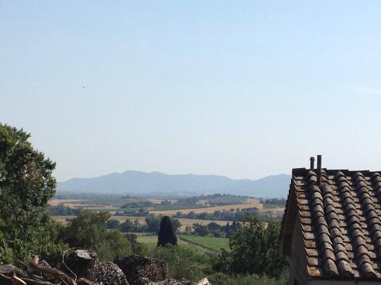 Pieve di Caminino Historic Farm: The view from our room