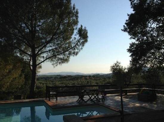 Pieve di Caminino Historic Farm: Views from the Pool