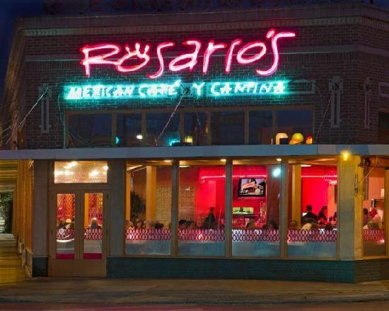 Rosario S Mexican Cafe Y Cantina San Antonio Menu