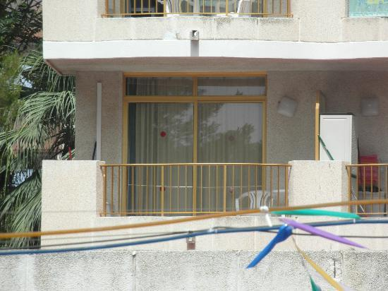 Inter2Salou : our balcony on the second floor