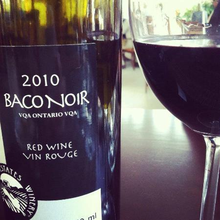 Gazebo Restaurant: Our wine choice for the evening