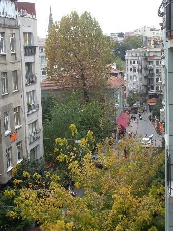 Hotel Villa Zurich: vue de la chambre