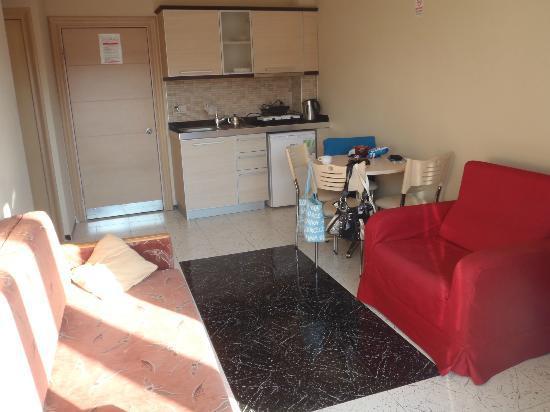 Candan Apart Hotel : living area