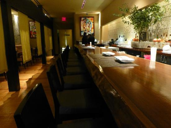 Masa New York.The Bar Is A Masterpiece Picture Of Masa New York City