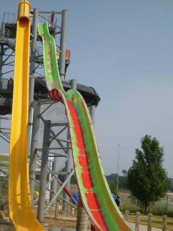 Mandan, ND: The Tower Slides