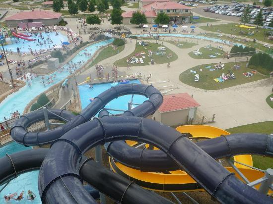 Mandan, ND: Park from the top of the Tower