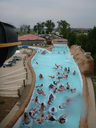 Mandan, ND: The Lazy River from the Tower